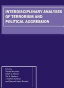 Interdisciplinary Analyses of Terrorism and Political Aggression PDF