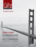 Study Guide to accompany Intermediate Accounting  Volume 2