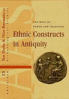 Ethnic Constructs in Antiquity PDF