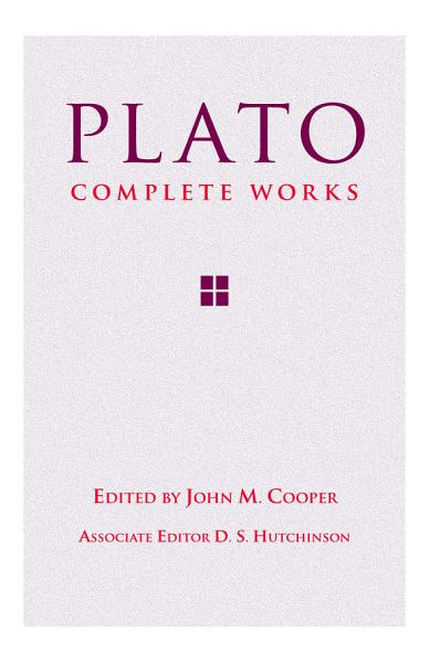 Download Plato  Complete Works Book