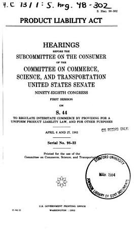 Product Liability Act PDF