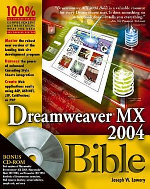 Dreamweaver MX 2004 Bible PDF