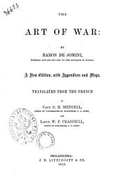 The Art of War by Baron de Jomini