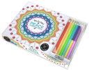 Vive Le Color Peace Adult Coloring Book And Pencils