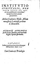 Institutio spiritualis