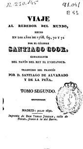 Viaje al rededor [sic] del mundo: hecho en los años de 1768, 69, 70 y 71, Volumen 2