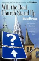 Will the Real Church Stand Up PDF