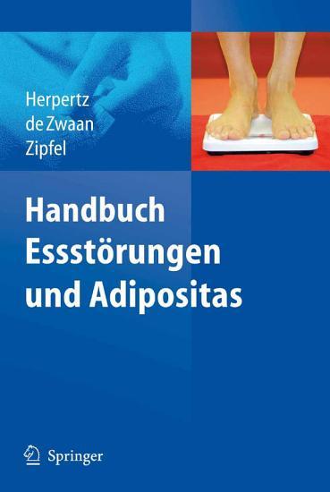 Handbuch Essst  rungen und Adipositas PDF