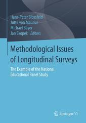 Methodological Issues of Longitudinal Surveys: The Example of the National Educational Panel Study