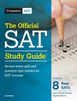 The Official SAT Study Guide  2018 Edition PDF