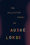 The Collected Poems of Audre Lorde