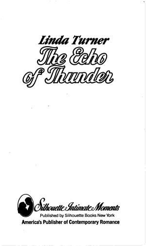The Echo of Thunder PDF
