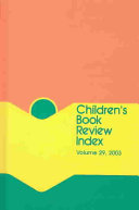 Children s Book Review Index 2003 PDF