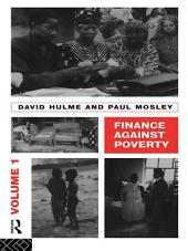 Finance Against Poverty:: Volume 1