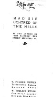 Mad Sir Uchtred of the Hills PDF