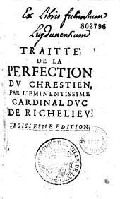 Traité de la perfection du chrétien