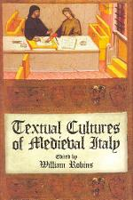 Textual Cultures of Medieval Italy