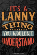 It s A Lanny Thing You Wouldn t Understand Book
