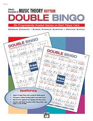 Essentials of Music Theory  Rhythm Double Bingo