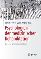 Psychologie in der medizinischen Rehabilitation PDF