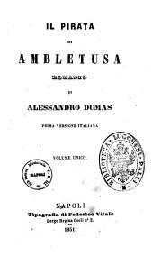 Il pirata di Ambletusa romanzo di Alessandro Dumas