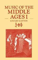 Music of the Middle Ages  Volume 1 PDF