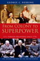 From Colony to Superpower PDF