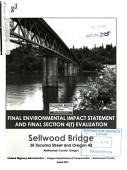 Sellwood Bridge Se Tacoma Street And Oregon State Highway 43 Multnomah County