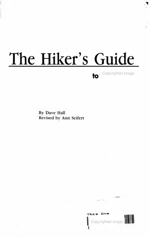 Hikers Guide to Utah