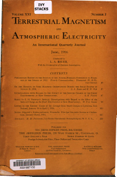Terrestrial Magnetism and Atmospheric Electricity: Volume 21, Issue 2