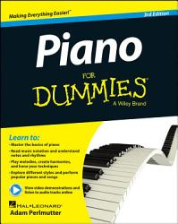 Piano For Dummies  Book   Online Video   Audio Instruction PDF