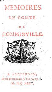 Mémoires du comte de Comminville: Volume1