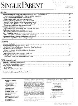 The Single Parent PDF