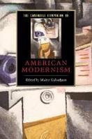 The Cambridge Companion to American Modernism PDF