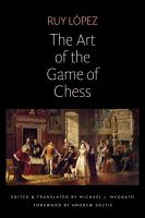 The Art of the Game of Chess PDF