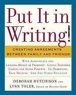 Put it in Writing!