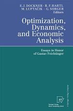 Optimization, Dynamics, and Economic Analysis