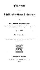 Einleitung in die Schriften des N. T.
