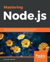 Mastering Node js PDF