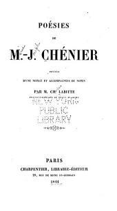 Poésies de M.-J. Chénier