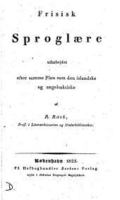 Frisisk Sproglære