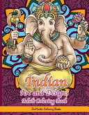 Indian Art and Designs Adult Coloring Book