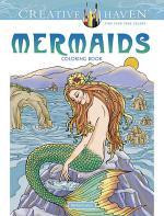 Creative Haven Mermaids Coloring Book