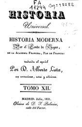Historia moderna: Volumen 12