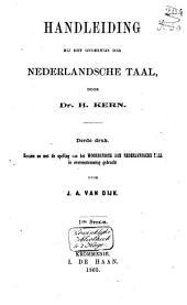Handleiding bij het onderwijs der Nederlandsche taal