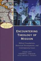 Encountering Theology of Mission PDF