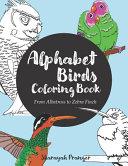 Alphabet Birds Coloring Book