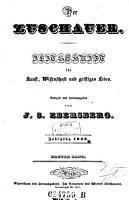Der oesterreichische Zuschauer  F  r Kunst  Wissenschaft und geistiges Leben  Zeitschrift     Hrsg  von J  S  Ebersberg PDF