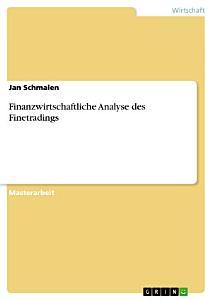 Finanzwirtschaftliche Analyse des Finetradings PDF