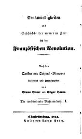 Die constituirende Versammlung vom October 1789 bis zur Flucht Ludwig XVI.